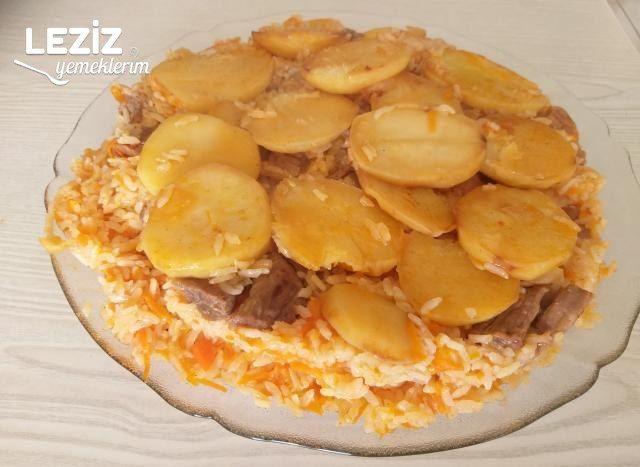 Patatesli Çevirme Pilavı Tarifi