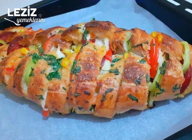 Bütün Ekmek Pizzası Tarifi