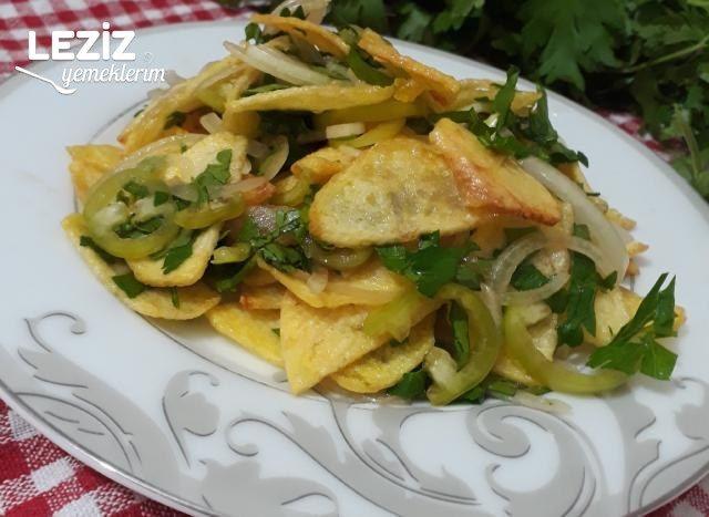 Kızarmış Patates Salatası Nasıl Yapılır?