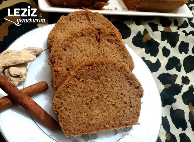 Zencefilli Tarçınlı Kek