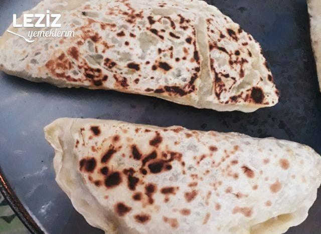 Ispanaklı Sac Böreği (Adana Usulü)