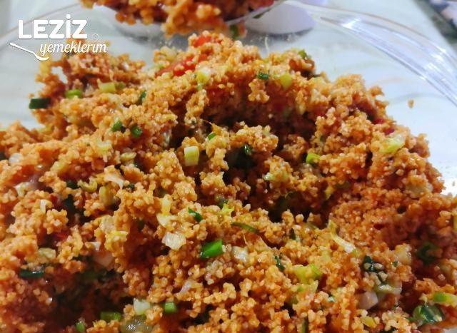 Tabule Lübnan Salatası