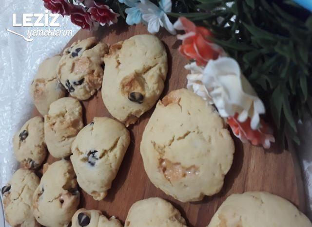 Marshmallowlu Kurabiye - S'maros Cookies