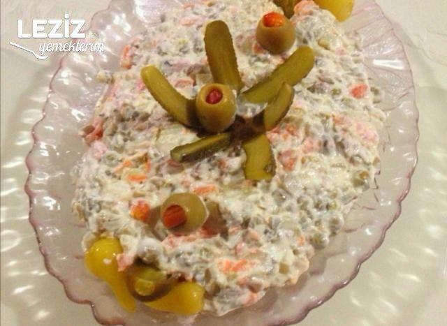 Amerikan Salatası (Olivier Salatası)