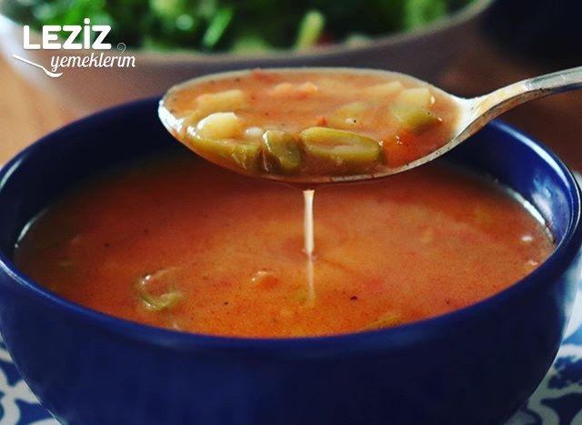 Taze Fasülye Çorbası Yapımı