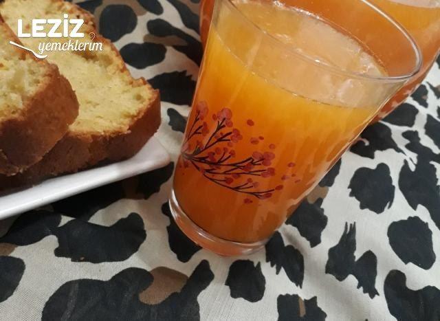 Ballı Mandalinalı Meyve Suyu Nasıl Hazırlanır