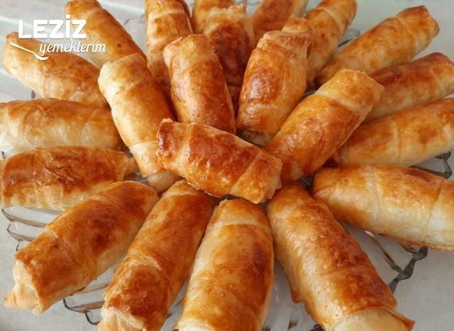 Milföy Tadında Çıtır Börek