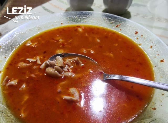 Leziz İşkembe Çorbası
