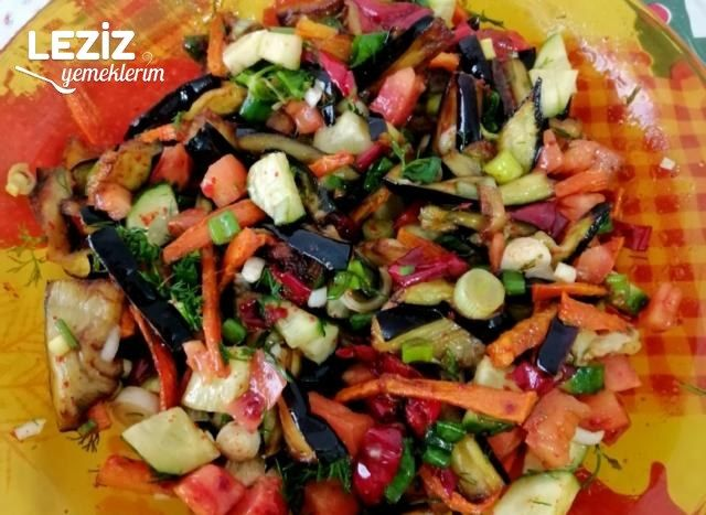 Özbek Salatası Tarifi