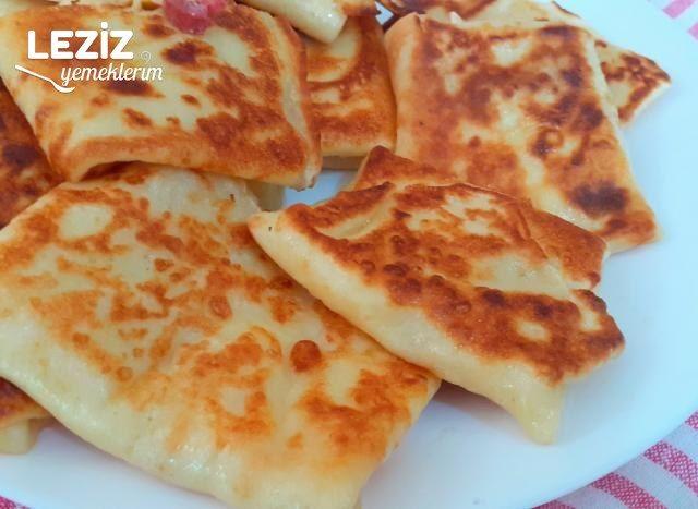 Kahvaltılarınızın Yıldızı Olacak Krep Börek (Videolu)