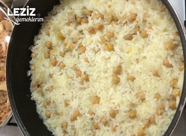 Nohutlu Pirinç Pilavı Tarifi, Nasıl Yapılır