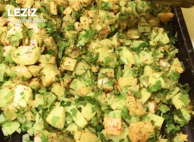 Patates Salatasının Yapımı