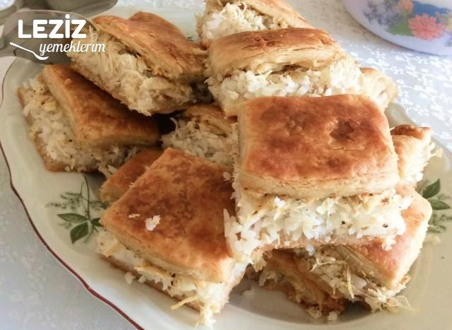Tavuklu Göbete Tarifi (Tatar Böreği)