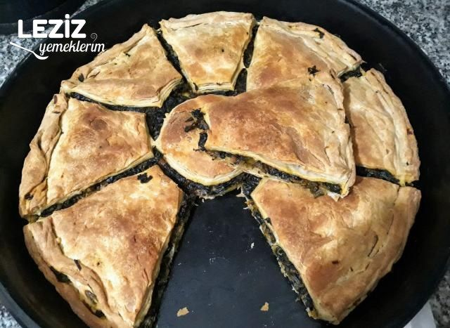 Havuçlu Ispanaklı Çıtır Arnavut Böreği