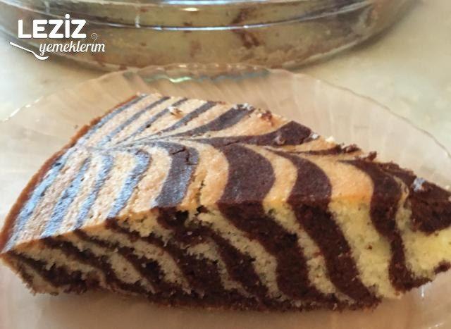 Maden Sulu Zebra Kek