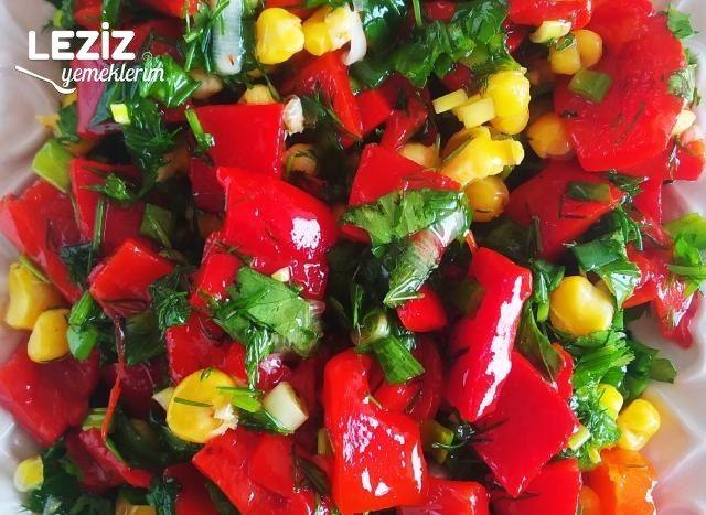 Çok Kolay Kapya Biber Salatası Tarifi