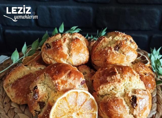 Portakal Üzümlü Anne Kurabiyesi