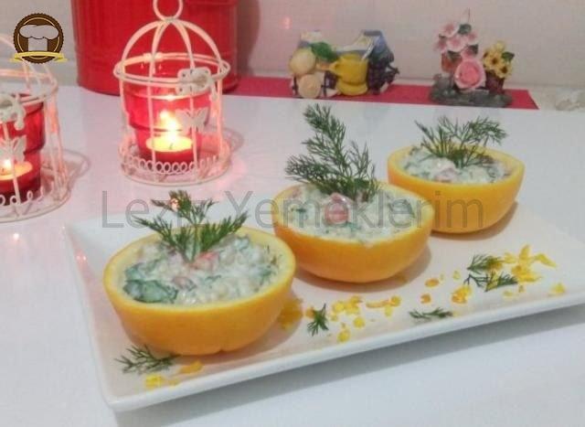 Portakal Yatağında Buğday Salatası