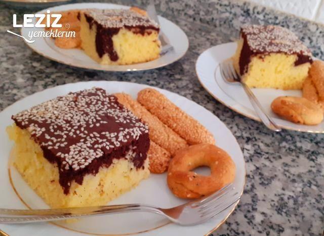Susamlı Borcam Keki (Kabaran Ve Tüm Püf Noktaları Ile)