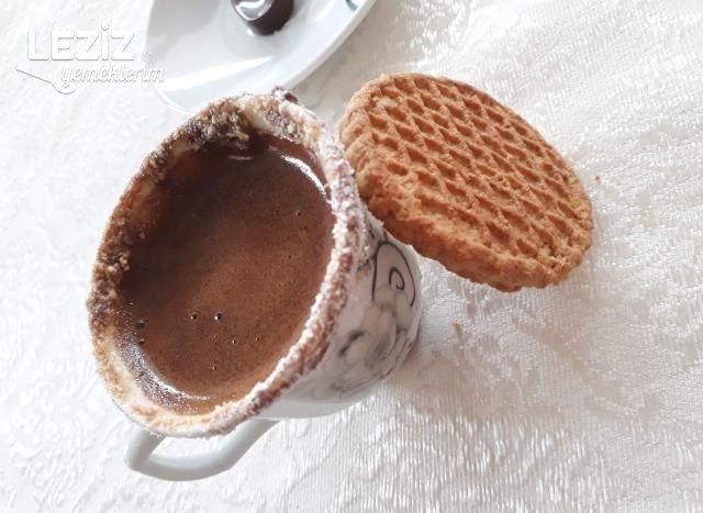 Susuz Pişen Kahve Tarifi (Maden Sulu+nutellalı)