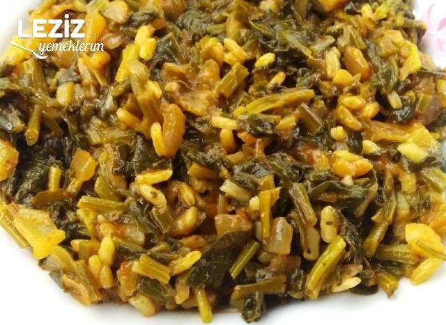 Pirinçli Ispanak Yemeğinin Tarifi