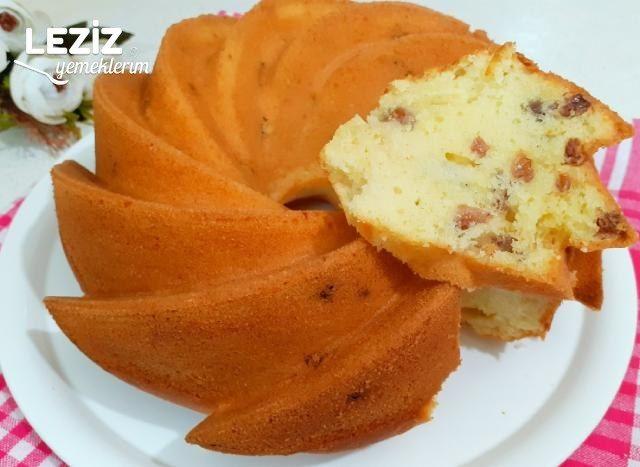 Püf Noktası İle Nefis Üzümlü Kek Tarifi (Videolu)