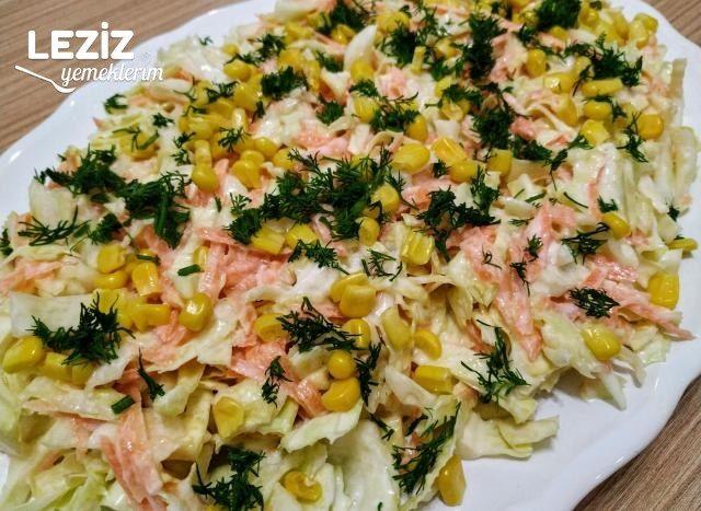 Coleslaw Salatası Tarifi, Nasıl Yapılır