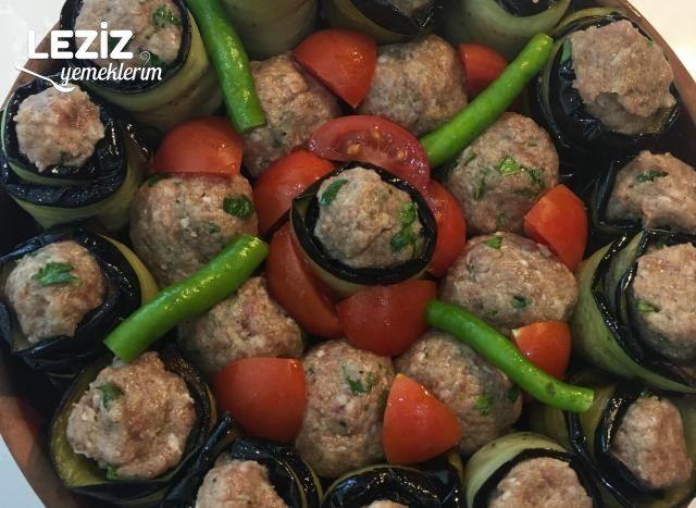 Patlıcanlı Güveç Köfte
