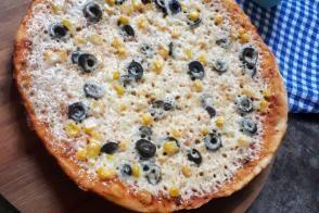 10 Dk Tava Pizzası (Mayalama Yok, Lezzeti Çok)