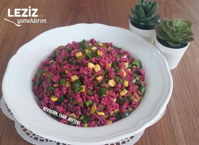 Muhteşem Şalgamlı Bulgur Salatası
