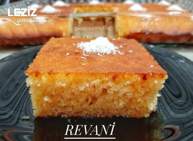 Portakallı Revani Yapımı