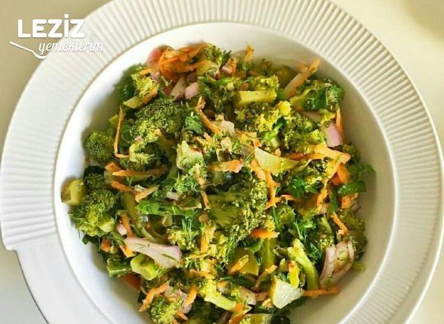 Sağlıklı Leziz Brokoli Salatası