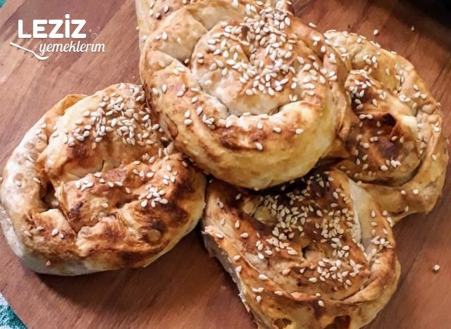 Şip Şak Hazırlayacağınız Patatesli Gül Böreği