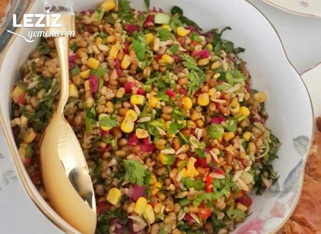 Ayçekirdekli Maş Fasulyesi Salatası