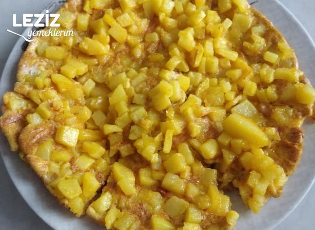 Patates Rüyası (Patatesli Omlet)
