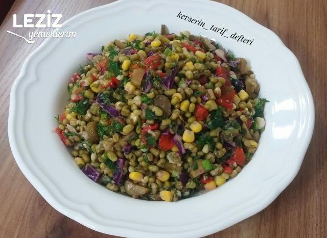 Nefis Maş Fasulyesi Salatası Tarifi
