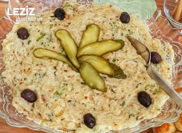 Mayonezli Hardallı Patates Salatası
