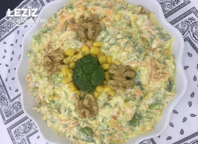 Havuçlu Mısırlı Brokoli Salatası