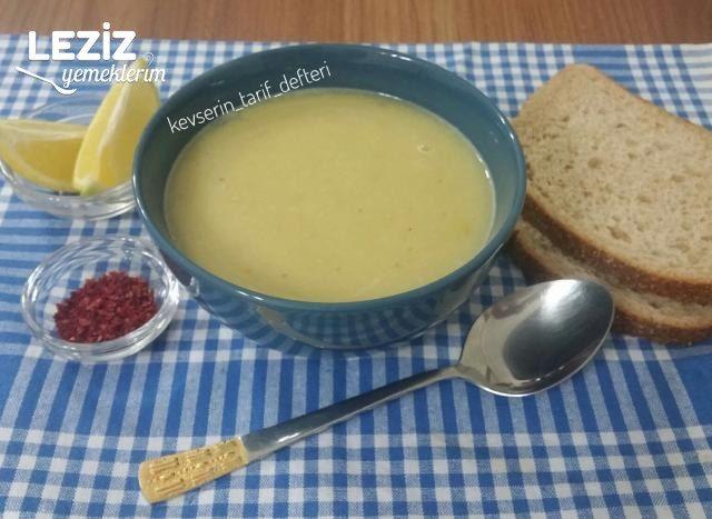 Meyaneli Sarı Mercimek Çorbası Tarifi