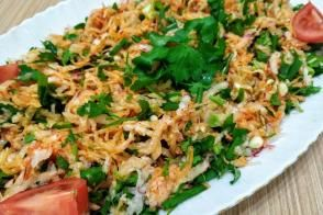 Turp Salatası Tarifi, Nasıl Yapılır