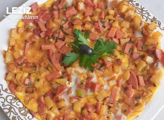 Kahvaltılık Nefis Omlet