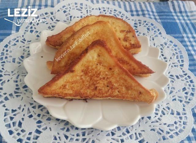 Türk Usulü Fransız Tostu Tarifi (French Toast)