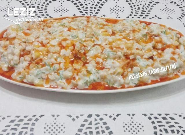 Nefis Yoğurtlu Buğday Salatası Tarifi