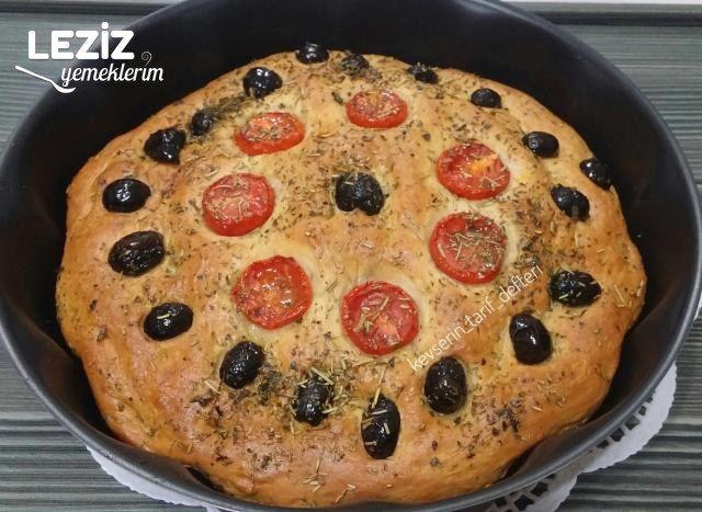Focaccia Ekmeği Tarifi, Nasıl Yapılır
