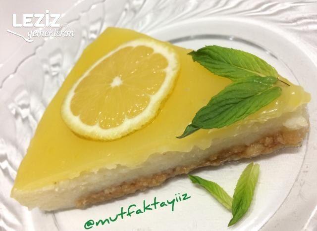 Limon Soslu İrmik Tatlısı
