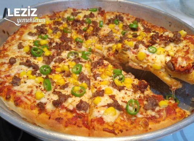 Tepside Karışık Pizza Tarifi (Hazırdan Güzel)