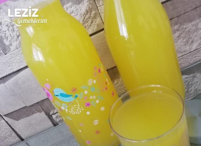 1 Limon 1 Portakal İle Acısız Limonata