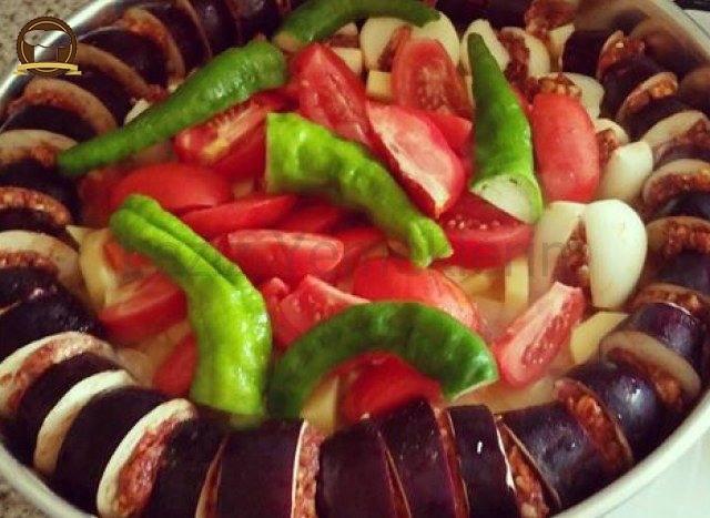 Patlıcan Kebabı Yapımı