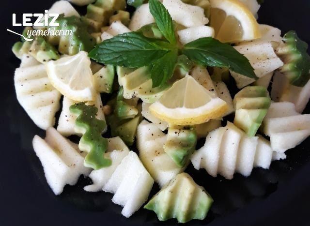 Elmalı Avokado Salatası