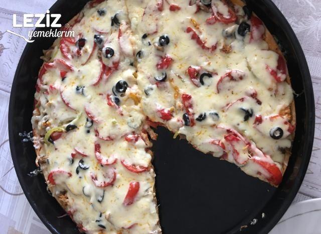 Tavuklu Karışık Pizza Tarifi